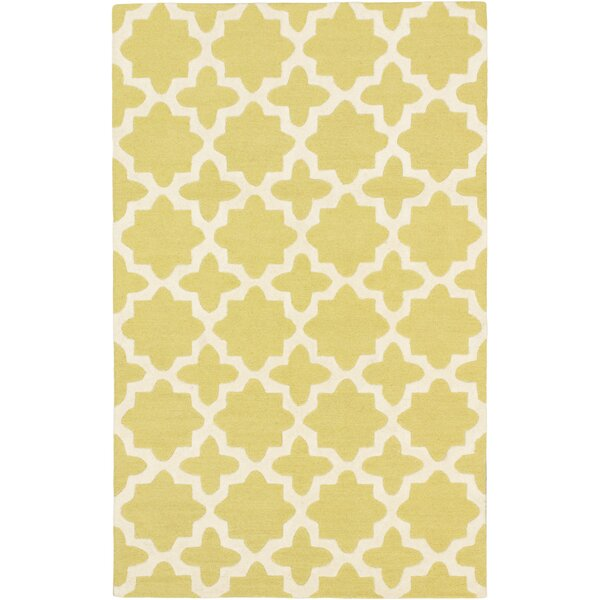 Sherly Casual Hand Tufted Cream Area Rug by Everly Quinn