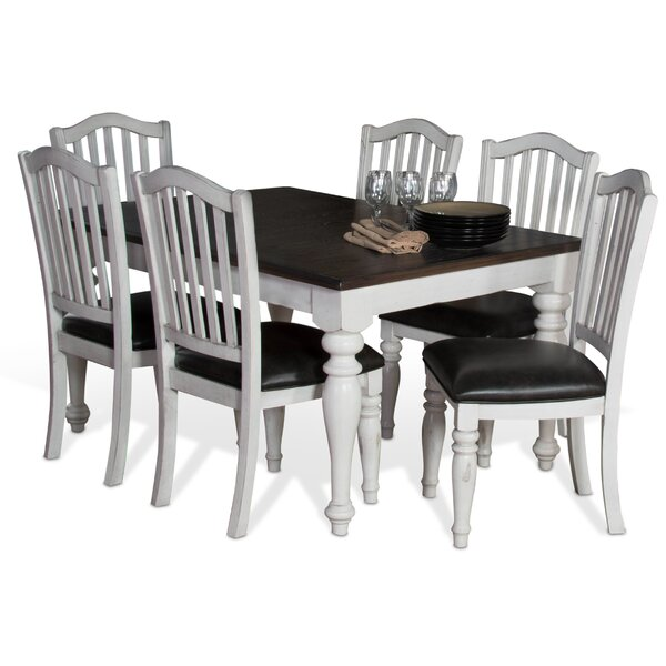 Kempsford 7 Piece Extendable Dining Set by August Grove