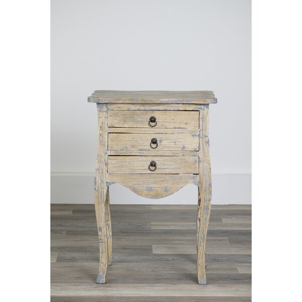 Morefield End Table with Storage by August Grove