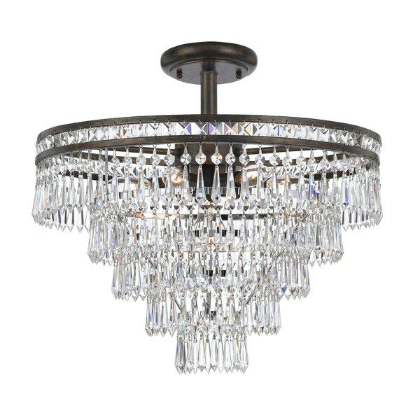 Markenfield 6-Light Unique / Statement Tiered Chandelier by Astoria Grand Astoria Grand