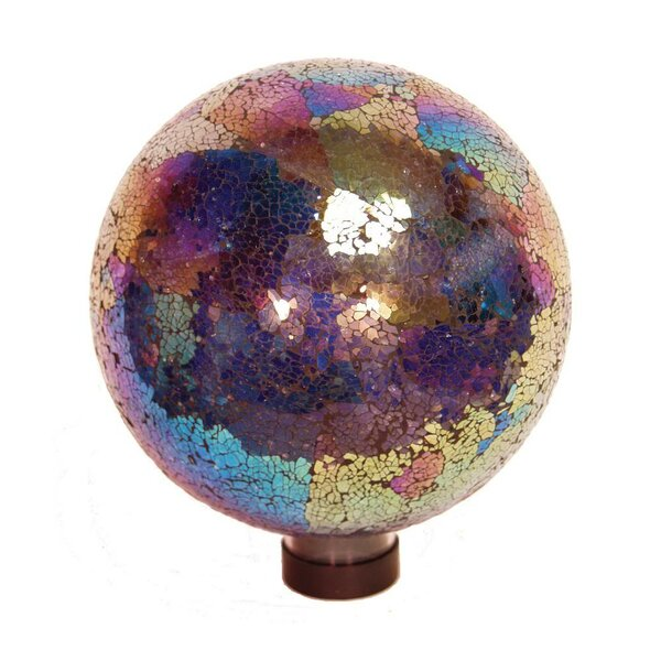 10 Arco Iris Mosaic Gazing Globe by Echo Valley