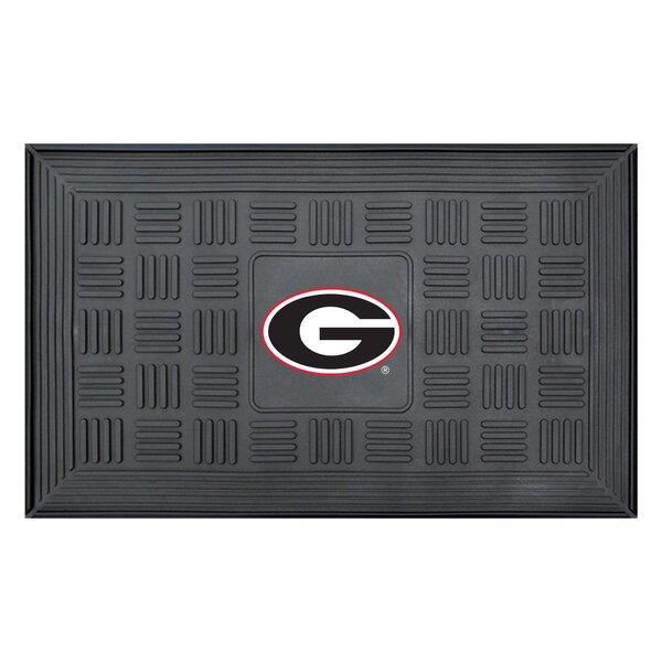 NCAA University of Georgia Medallion Door Mat by FANMATS
