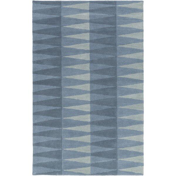 Mod Pop Hand-Tufted Blue Area Rug by Bobby Berk Home