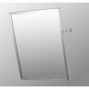 Compare Cromer Edge Mirror Door 36 x 18 Surface Mount Framed Medicine Cabinet By Ebern Designs