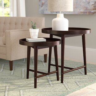 Find the perfect Toby 2 Piece Nesting Tables ByLangley Street