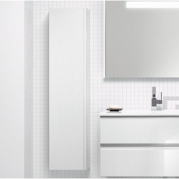 Anvith 11.81 W x 51.18 H x 8.68 D Linen Cabinet