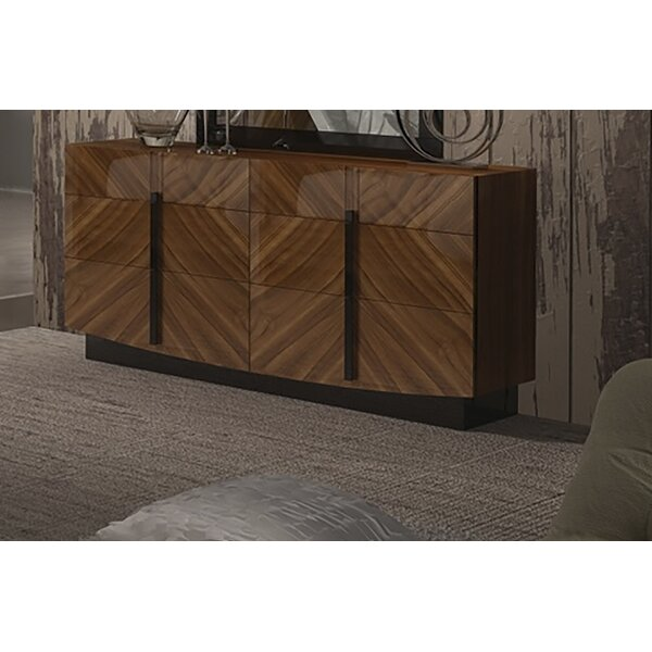 Alers 6 Drawer Double Dresser by Brayden Studio
