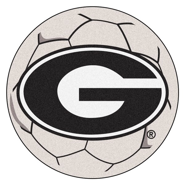 NCAA University of Georgia Soccer Ball by FANMATS