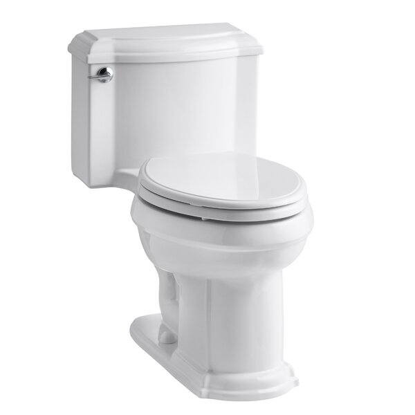 Devonshire Comfort Height One-Piece Elongated 1.6 GPF Toilet by Kohler