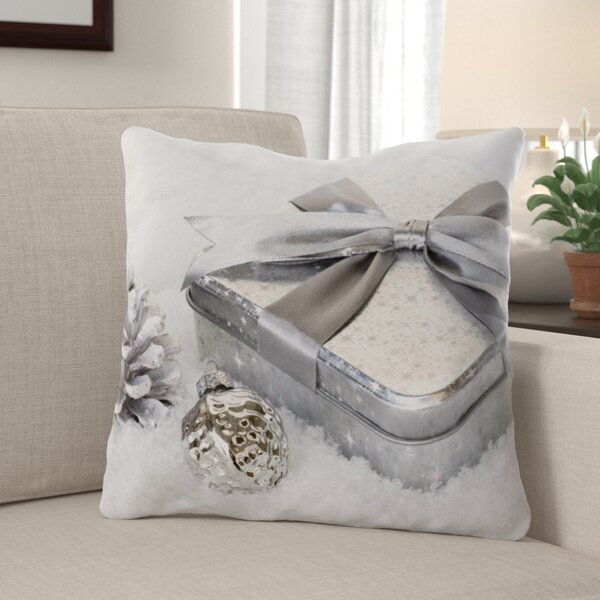 Suzanne Christmas Indoor/Outdoor Canvas Throw Pillow