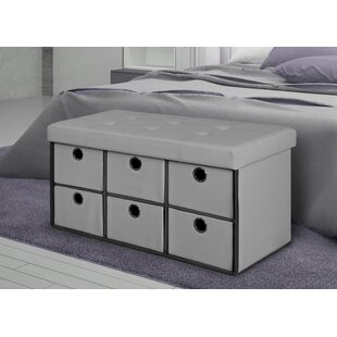 Savings 6 Drawer Storage Bench By Rebrilliant