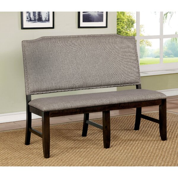 Rayan Wood Bench by Charlton Home