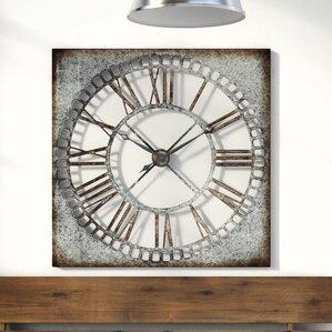 office large size floor clocks wayfair. Troy Wall Clock Office Large Size Floor Clocks Wayfair
