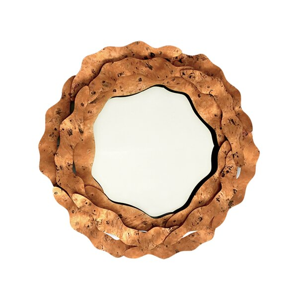 Syam Metal Accent Mirror by 17 Stories