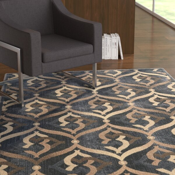Fulop Gray Area Rug by Ebern Designs