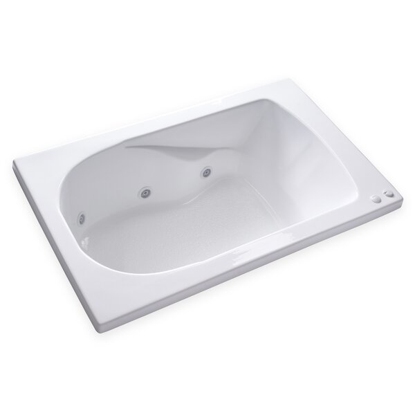 Hygienic Aqua Massage 60 x 36 Whirlpool Bathtub by Carver Tubs