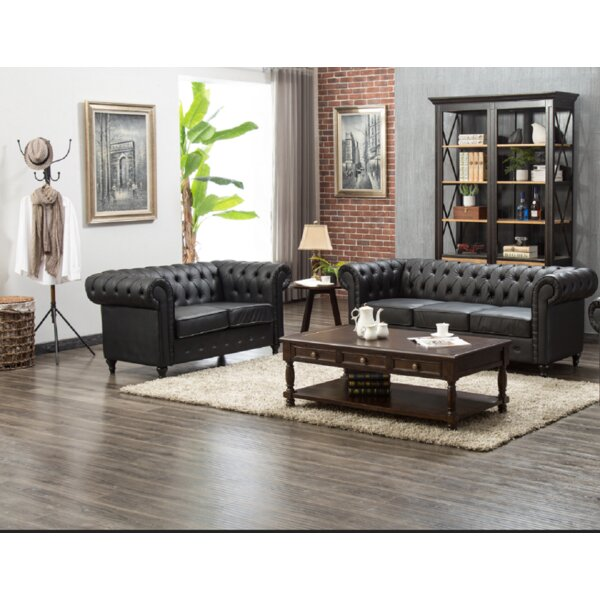 Christo 2 Piece Living Room Set By Charlton Home