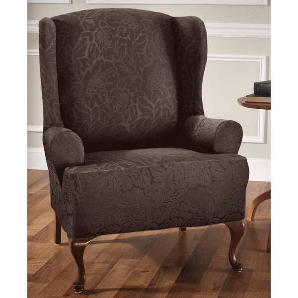 Buy Sale Price T-Cushion Wingback Slipcover