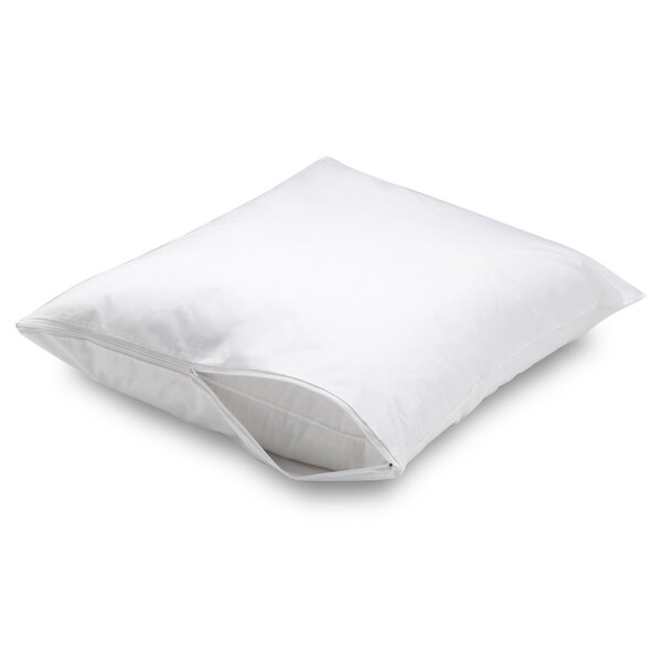 Waterproof Allergy Protection Zippered Pillow Protector by AllerEase