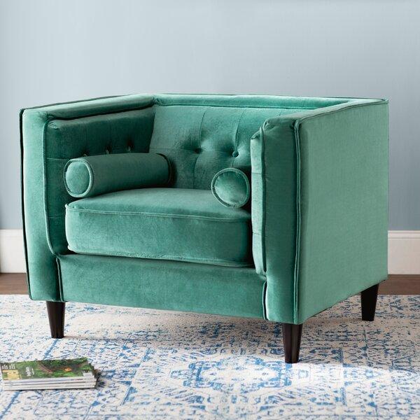 Roberta Velvet Club Chair by Willa Arlo Interiors