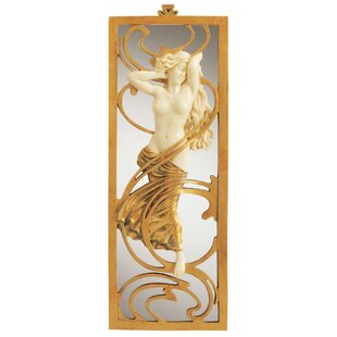 Design Toscano Parisian Art Nouveau Wall Mirror
