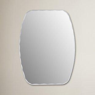 Wrought Studio Logan Frameless Wall Mirror