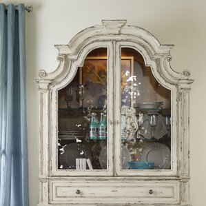 Sanctuary Lighted China Cabinet Hutch by Hooker Furniture