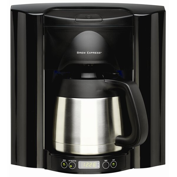 10 Cup Built-In Self-Filling Coffee and Hot Beverage System by Brew Express