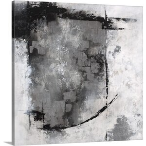 'Silver Window' by Rikki Drotar Painting Print on Canvas by Great Big Canvas