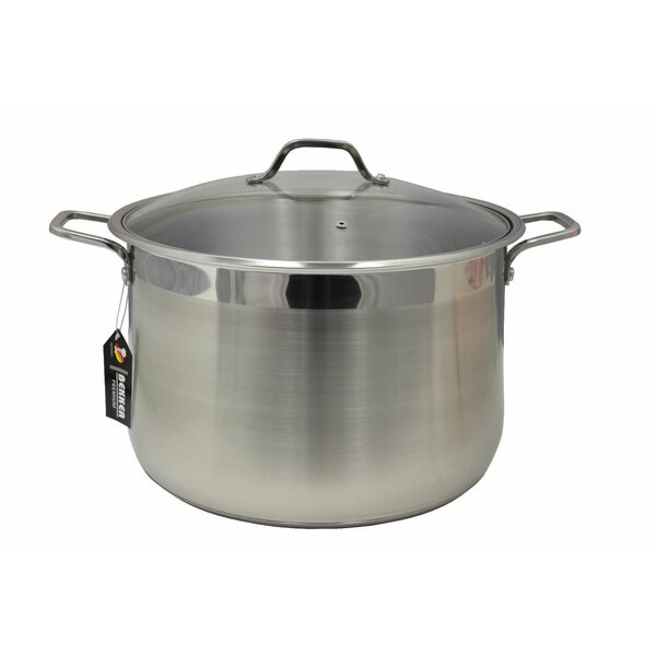 Bekker Stainless Steel Stock Pot with Lid by Bekker
