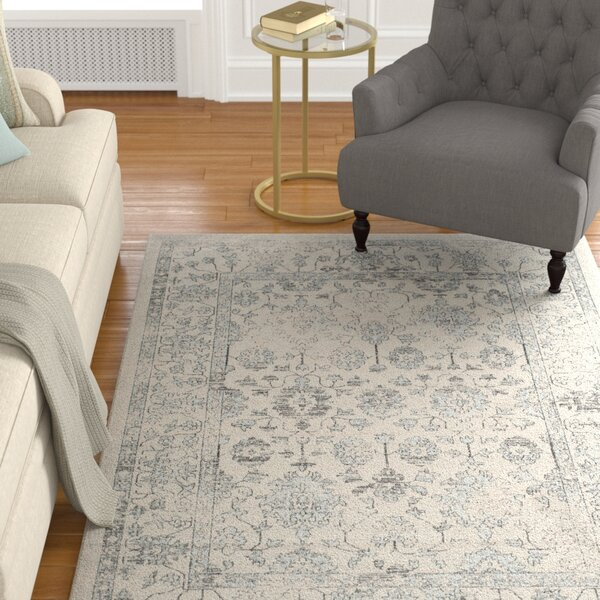 Carmel Beige/Gray Area Rug by Darby Home Co
