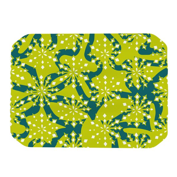 Festive Splash Placemat by KESS InHouse