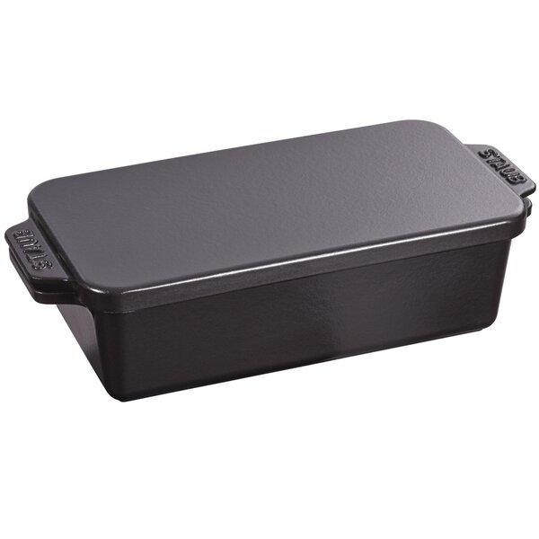 Cast Iron Covered Loaf Pan by Staub