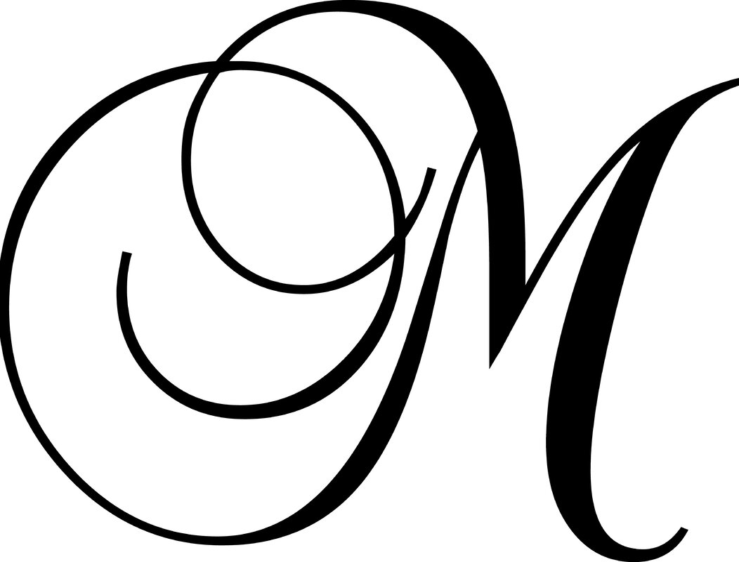 Enchantingly Elegant Letter Quot M Quot Wall Decal Amp Reviews Wayfair