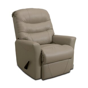 Westchester Leather Manual Rocker Recliner Darby Home Co