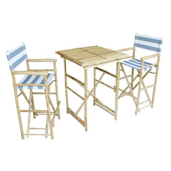 Jorah 3 Piece Pub Table Set by Bay Isle Home