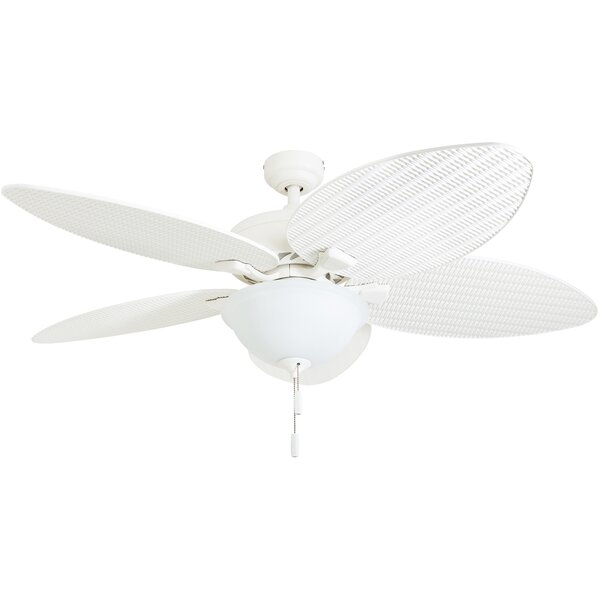 52 Palm Valley Tropical 5 Blade LED Ceiling Fan by Honeywell