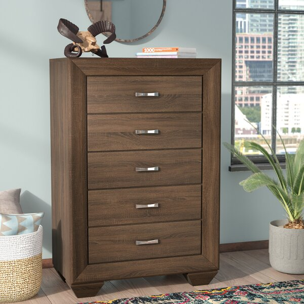 Barnsdall 5 Drawer Chest by Trent Austin Design