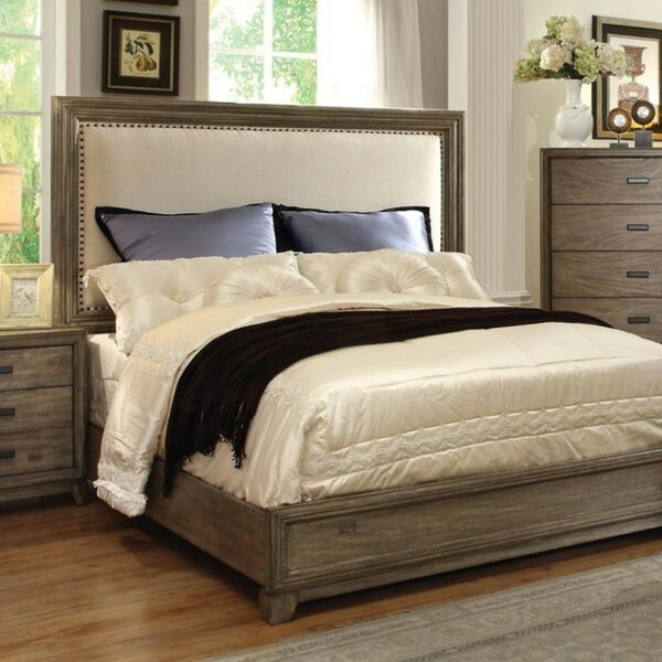 Aust Upholstered Standard Bed by Canora Grey