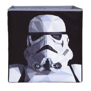 Best Reviews Star Wars Collapsable Storm Trooper Fabric Cube or Bin ByEverything Mary