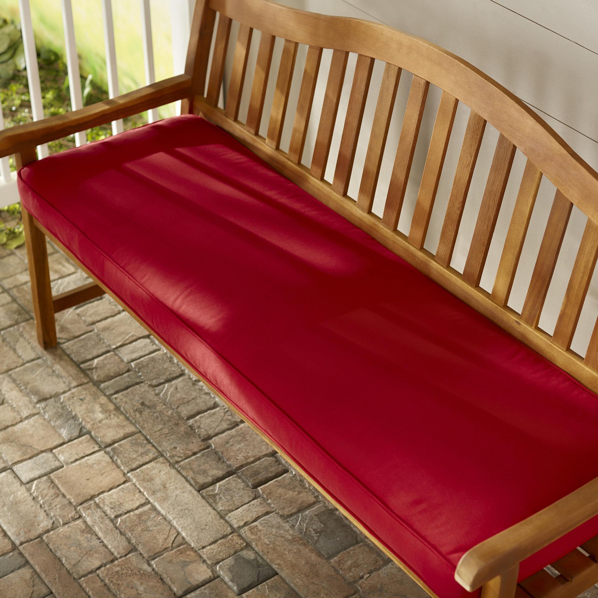Telleman Indoor Outdoor Sunbrella Bench