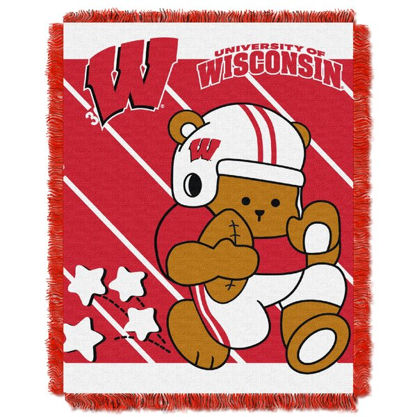 Collegiate Wisconsin Baby Blanket by Northwest Co.