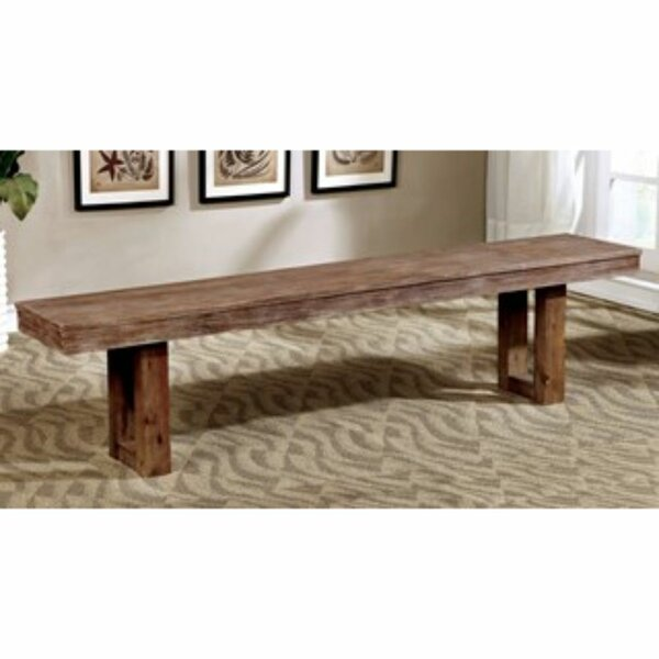 Dario Wood Bench by Foundry Select