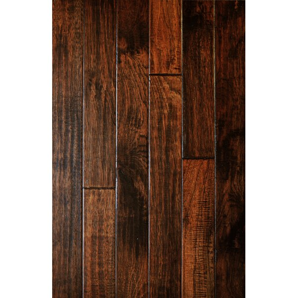 Smokehouse 3 Solid American Hickory Hardwood Flooring in Illinois by Albero Valley