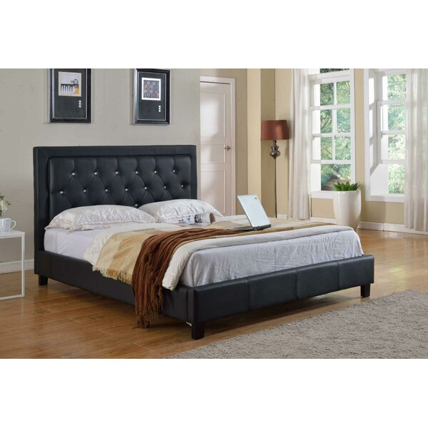 Apollonia California king Upholstered Platform Bed by House of Hampton