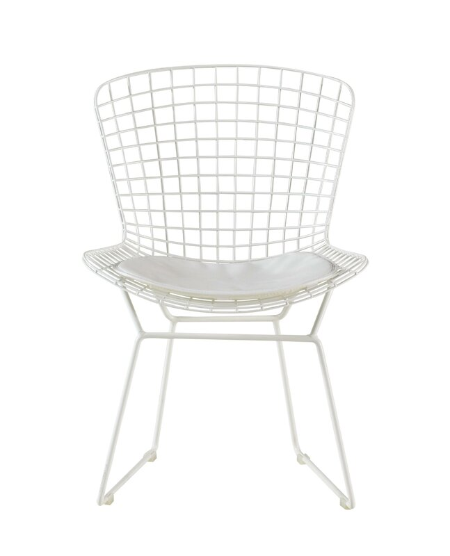 MIDCENTURY MODERN Wire Chair Alert! Holly Wire Dining Chair