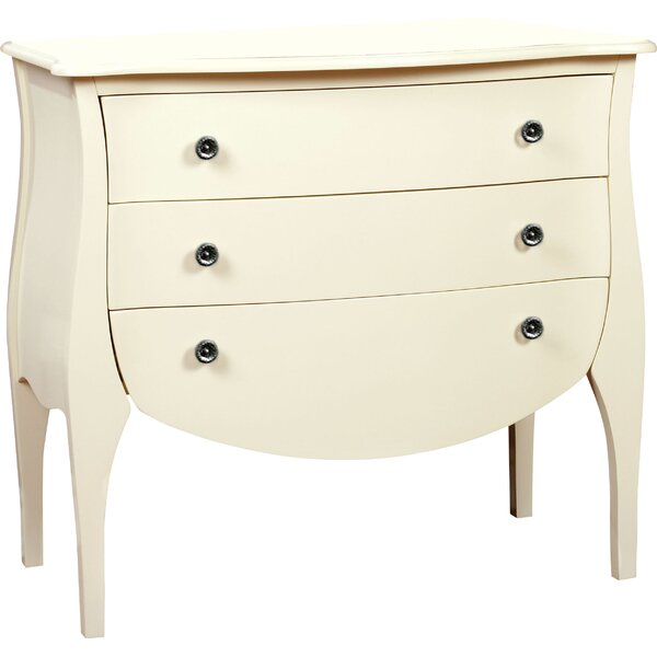 Lacour 3 Drawer Accent Chest by August Grove