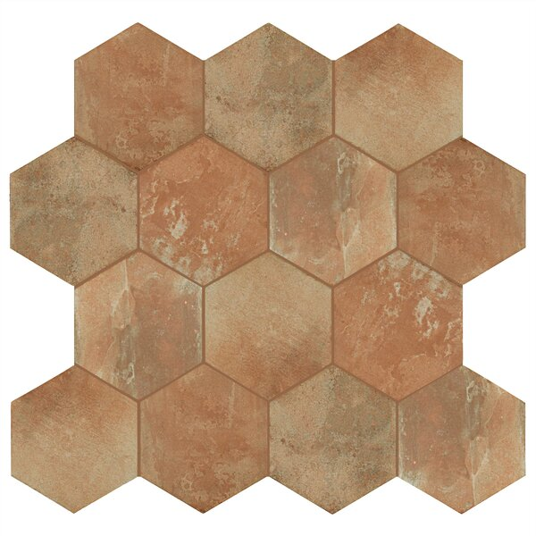 Lincoln 11 x 12.75 Porcelain Field Tile in Tan/Beige/Brown by EliteTile