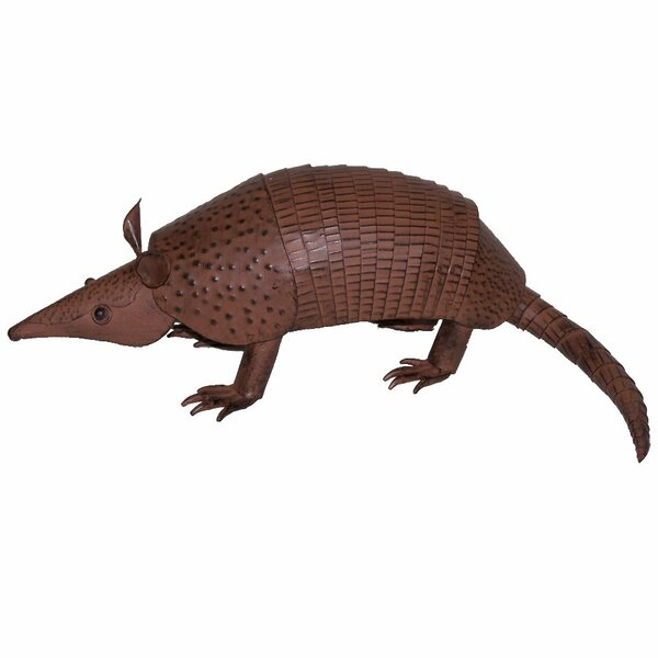Arellano Metal Armadillo by Millwood Pines