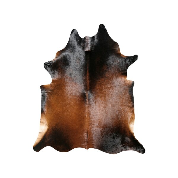 Natural Cowhide Normand Rug by Pure Rugs